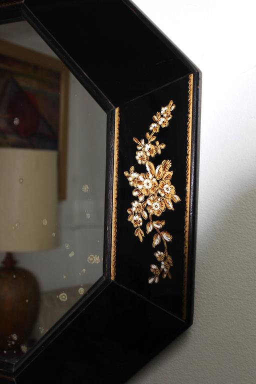 American 1940s Octagonal Mirror For Sale
