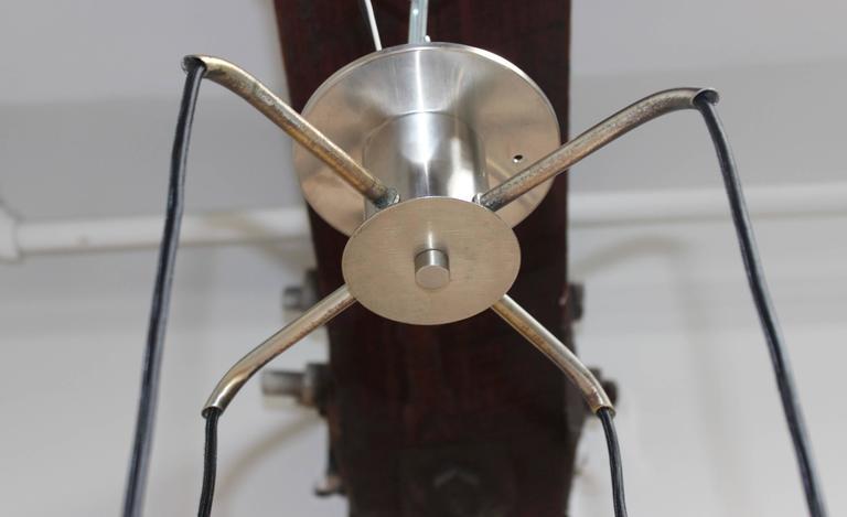 Stilnovo Four Lights Chandelier For Sale 2