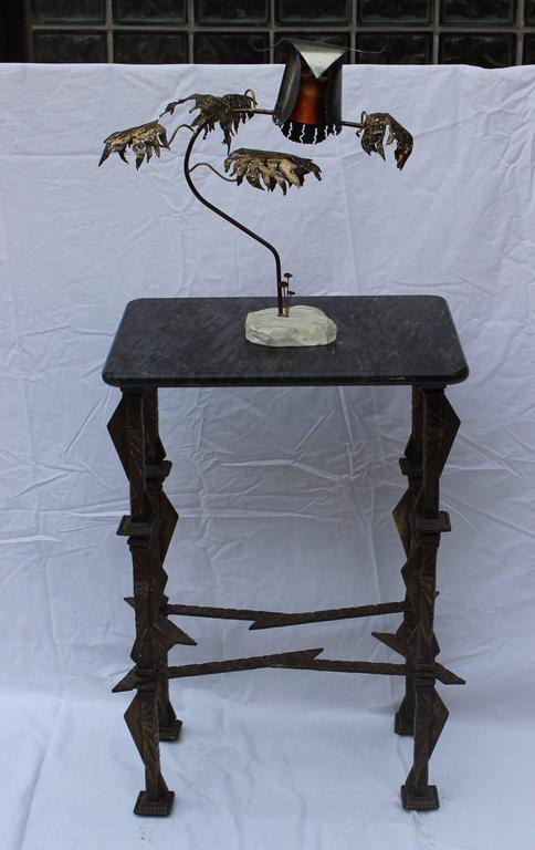 20th Century 1960s Brutalist Owl Sculpture by Higgins For Sale