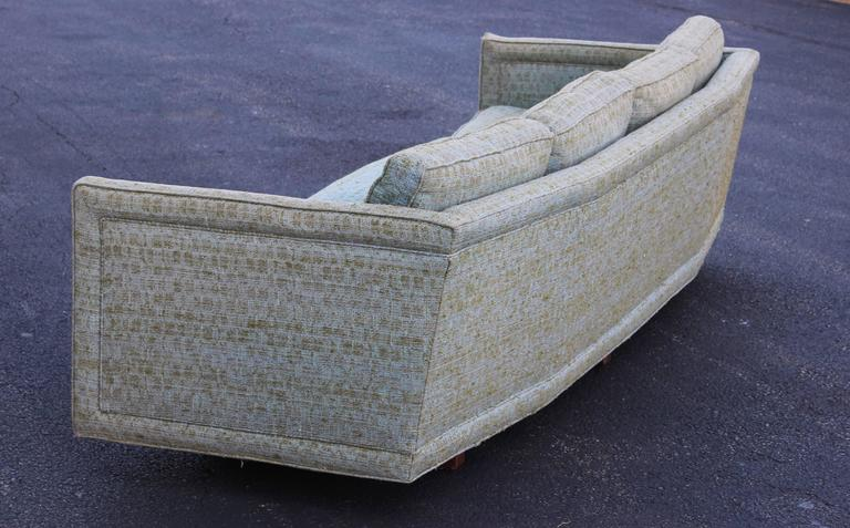 Erwin Lambeth Custom Curved Sofa For Sale At 1stdibs