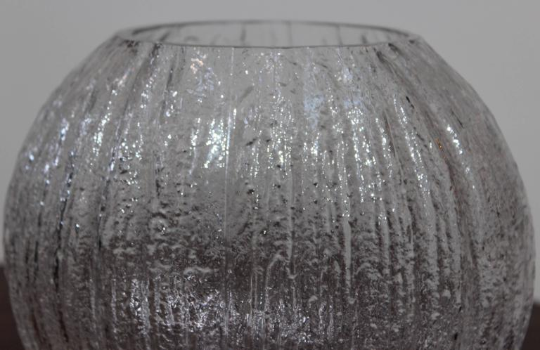 20th Century Timo Sarpaneva Glass Vase For Sale