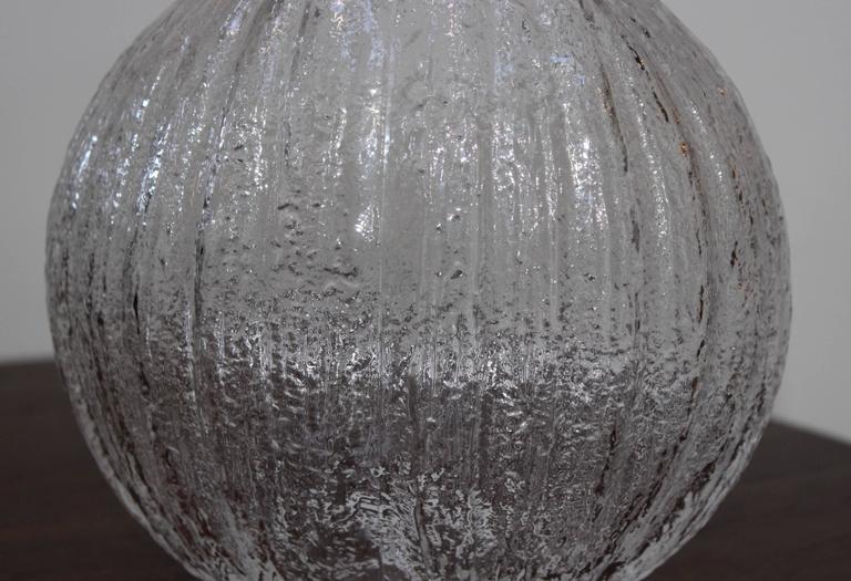 Art Glass Timo Sarpaneva Glass Vase For Sale