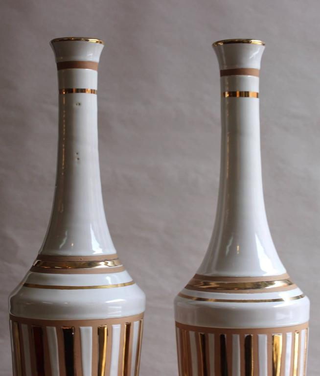 20th Century 1970s Italian Pottery Vases For Sale