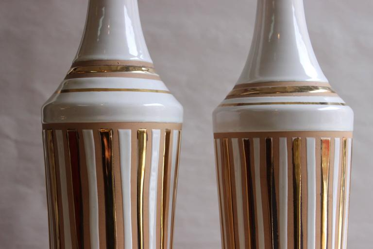 1970s Italian Pottery Vases For Sale 1