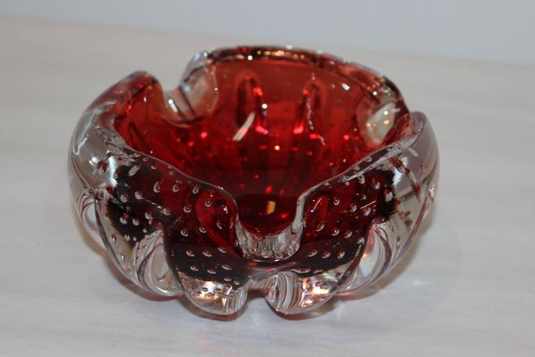 Murano Glass Decorative Bowls Collection For Sale 2
