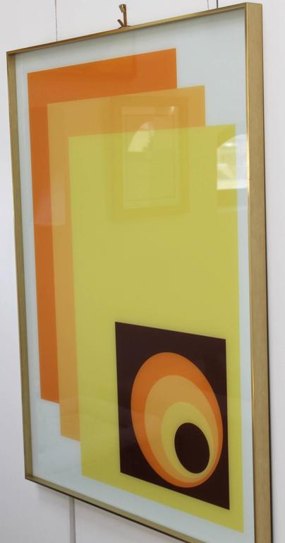 1970s Modern Op Wall Art by Turner For Sale at 1stdibs