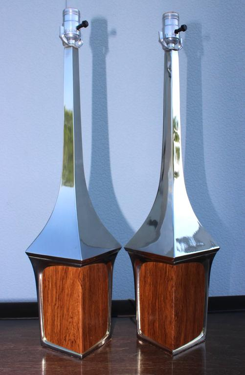 Mid-Century Modern Table Lamps by Laurel In Good Condition For Sale In New York City, NY