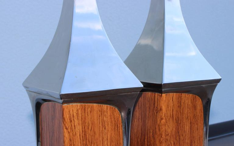 Mid-Century Modern Table Lamps by Laurel For Sale 1