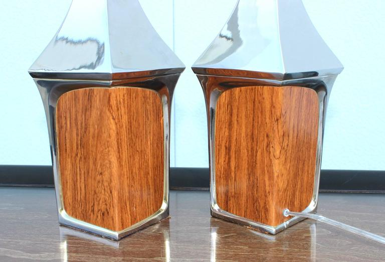 Mid-Century Modern Table Lamps by Laurel For Sale 3