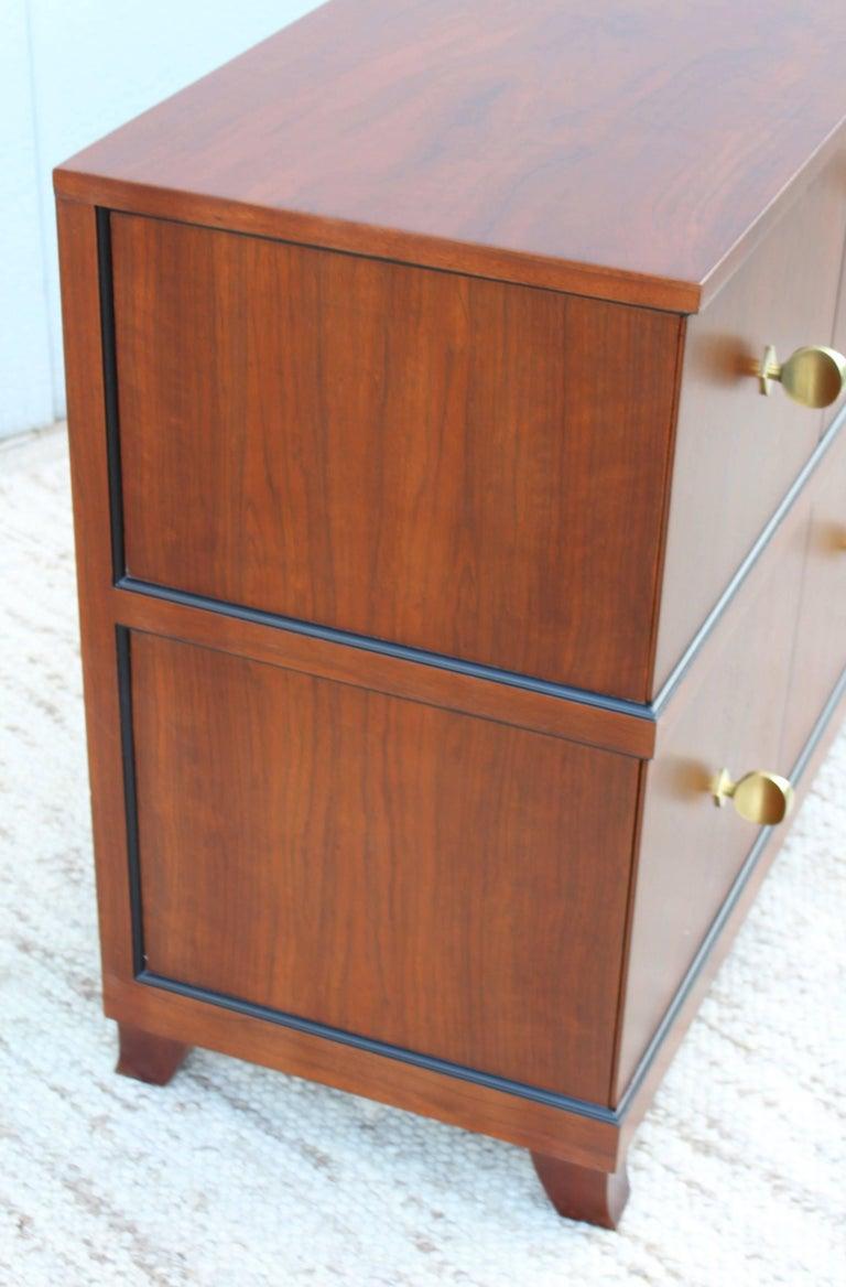 rare gilbert rohde paldao wood dresser for sale at 1stdibs