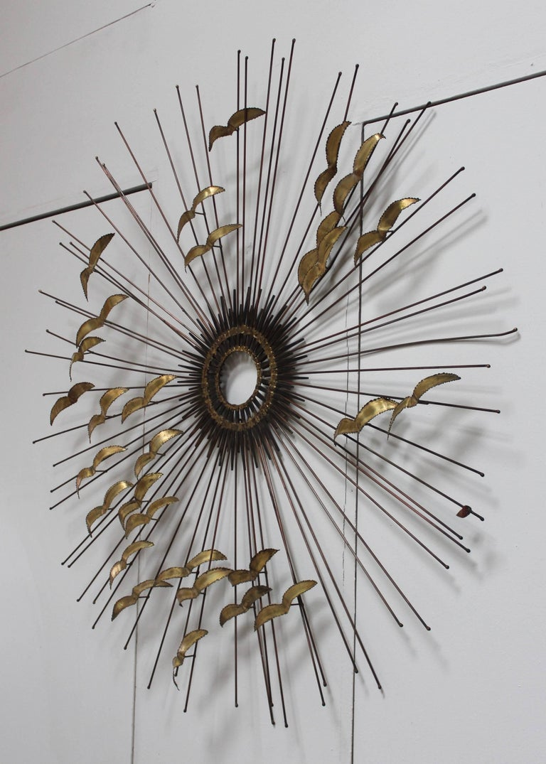 American 1960s Modern Wall Sculpture by Degroot For Sale