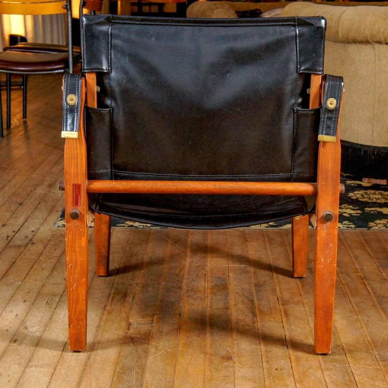 Mid-Century Modern Gold Medal Safari Chair For Sale