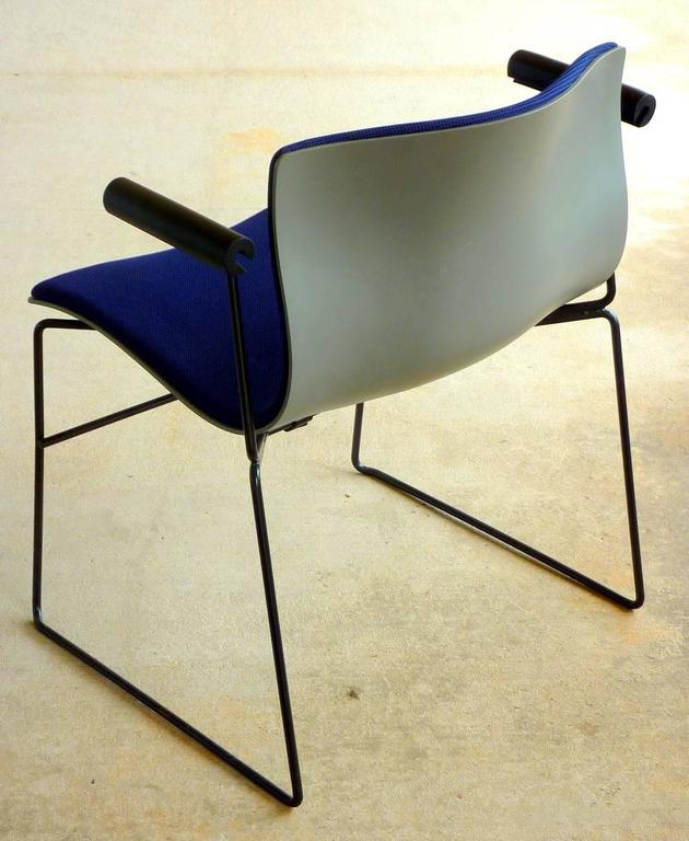 Mid-Century Modern Set of Four Handkerchief Armchairs by Massimo Vignelli for Knoll For Sale
