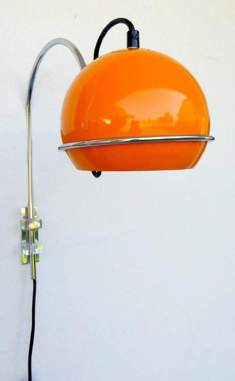 Pumpkin Eyeball Sconce By Gebroeders Posthuma For Gepo For
