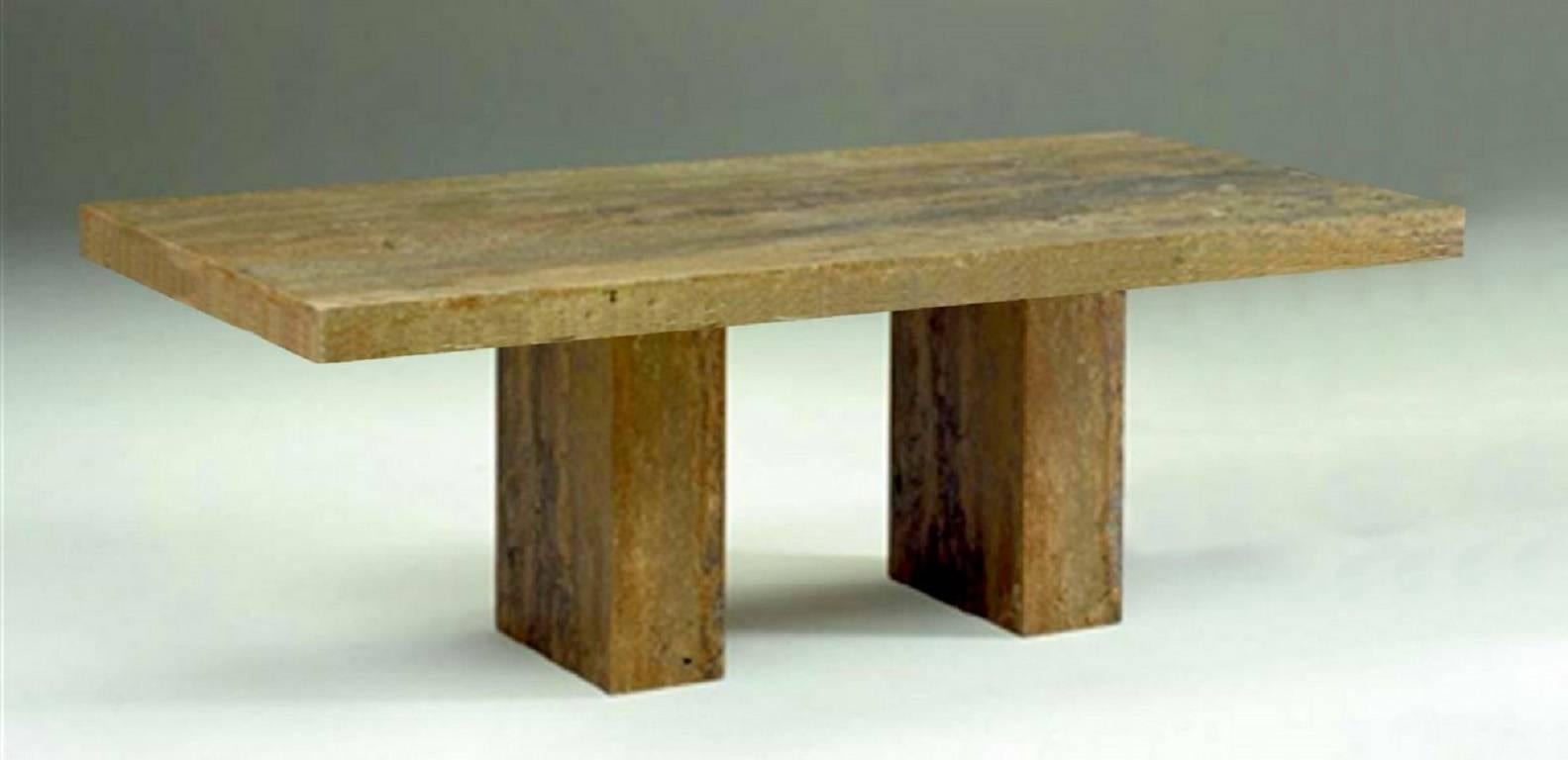 Marble Dining Table By Stone International For Robb And Stucky At 1stdibs