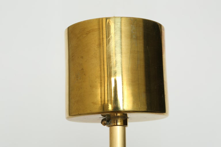 Hans-Agne Jakobsson Brass Chandelier For Sale 3