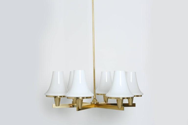 Mid-Century Modern Hans-Agne Jakobsson Chandelier For Sale