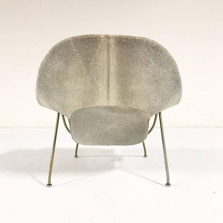 Vintage eero saarinen womb chair restored in brazilian cowhide circa 1958 for sale at 1stdibs - Vintage womb chair for sale ...