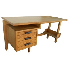 Guillerme & Chambron, Oak and Ceramic Desk, Edition Votre Maison