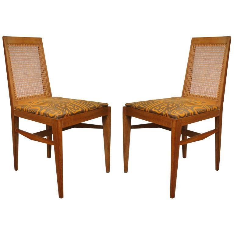 Pair of Rare and Elegant 1940 Chairs by André Preston For Sale