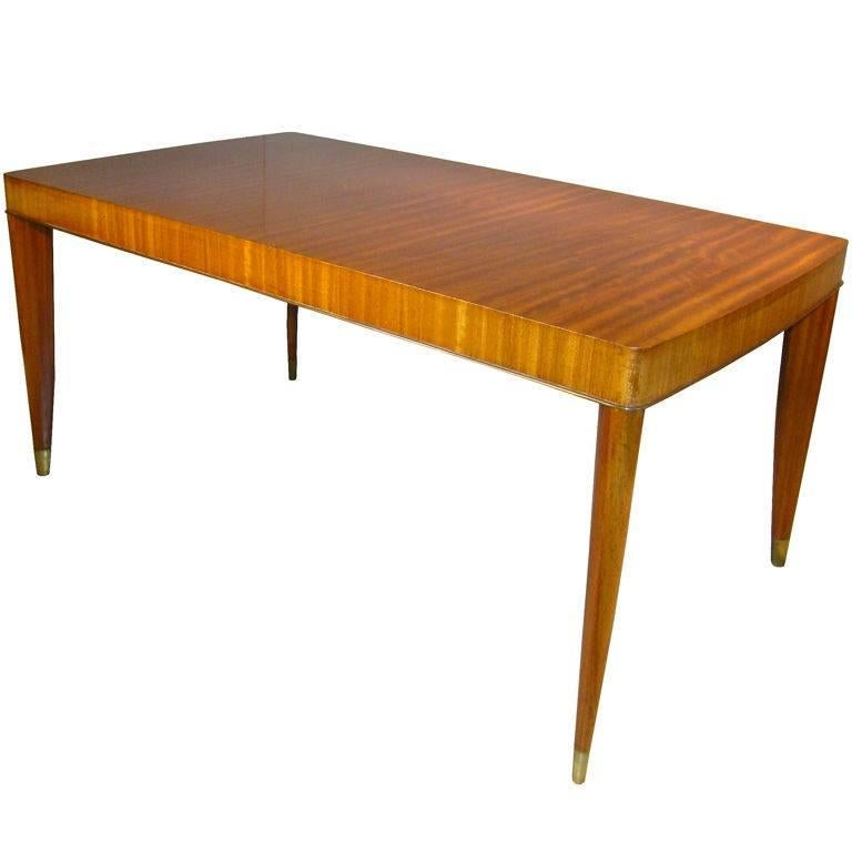 De Coene, Art Deco Table in Mahogany, circa 1930
