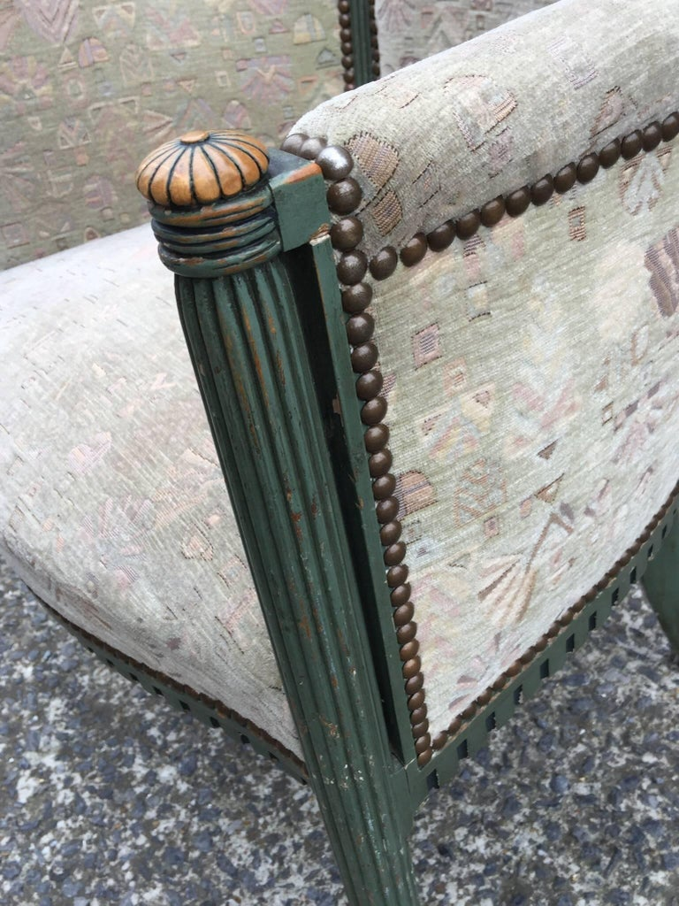 French two Art Deco Armchairs, circa 1925-1930 For Sale