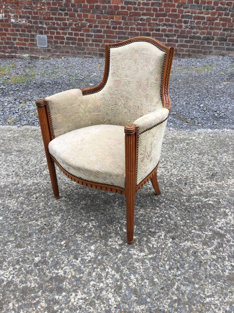 two Art Deco Armchairs, circa 1925-1930 For Sale 3
