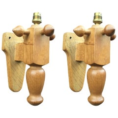 Pair of Guillerme et Chambron Wall Sconces,Votre Maison Edition