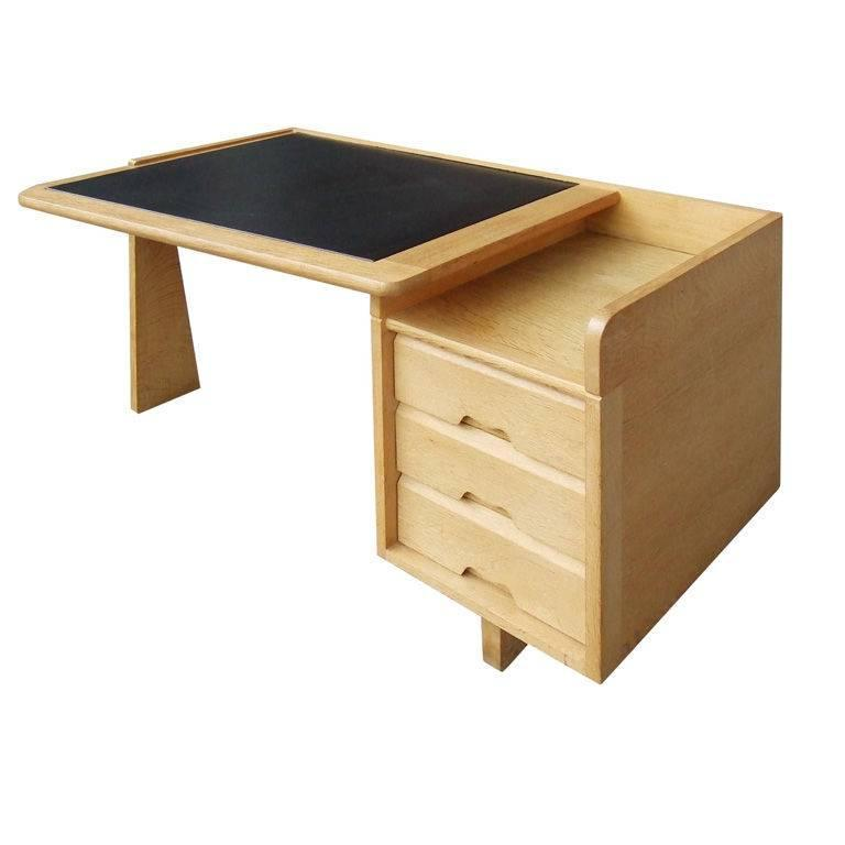 guillerme et chambron etudiant oak desk for sale at 1stdibs. Black Bedroom Furniture Sets. Home Design Ideas