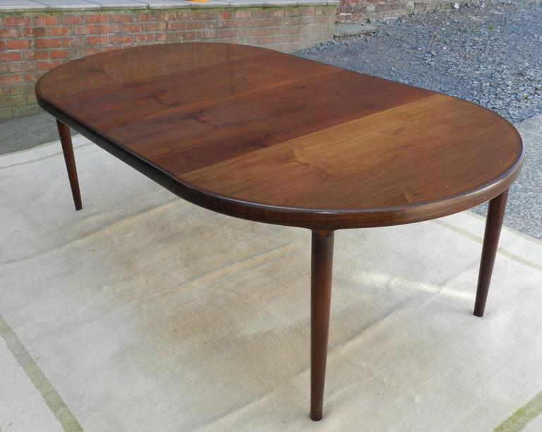Skovmand And Andersen Rosewood Dining Room Table Made In