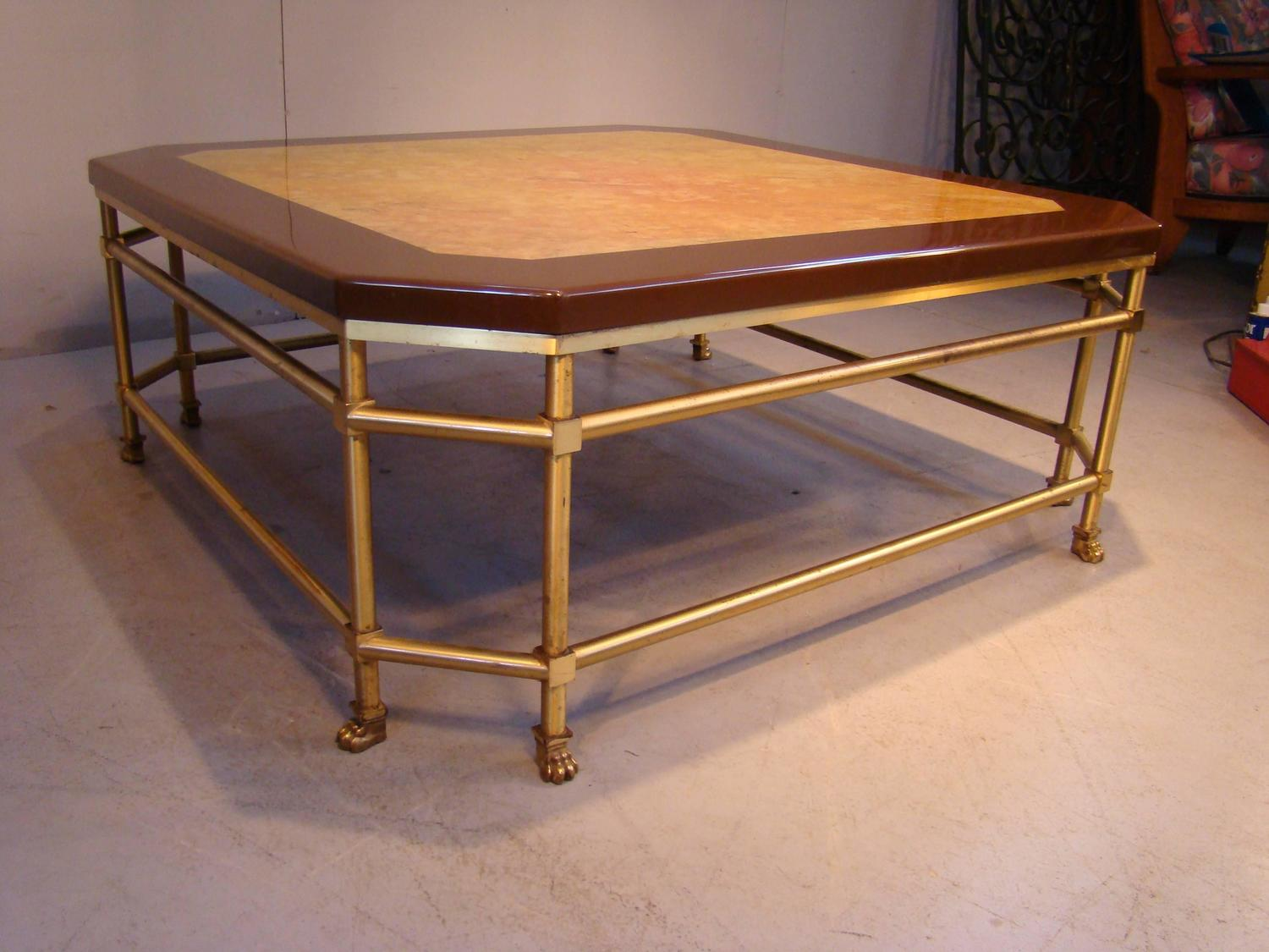 Maison Jansen Coffee Table Circa 1970 For Sale At 1stdibs