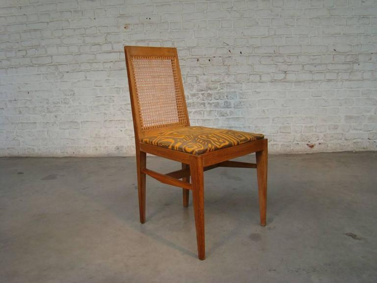 Rare and elegant 1940 chairs by André Preston
