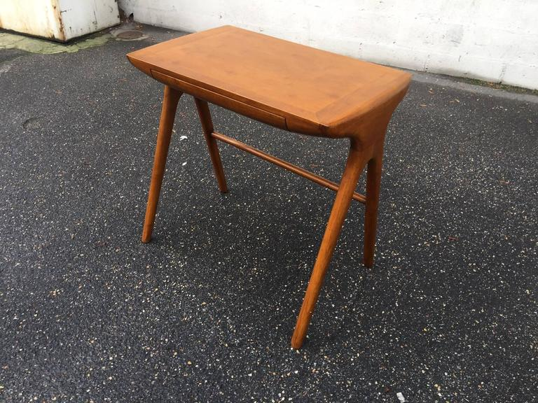 Italian Little Desk with His Chair For Sale