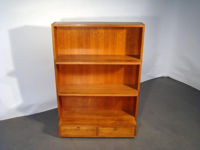 Bush Business Furniture Series C18w 5 Shelf Bookcase In Natural Cherry