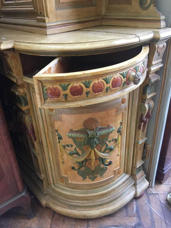 napoleon iii amusing painted buffet for sale at 1stdibs. Black Bedroom Furniture Sets. Home Design Ideas