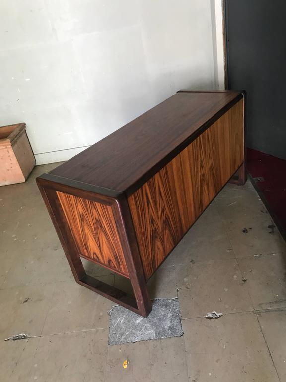 A Scandinavian sideboard in mahogany.