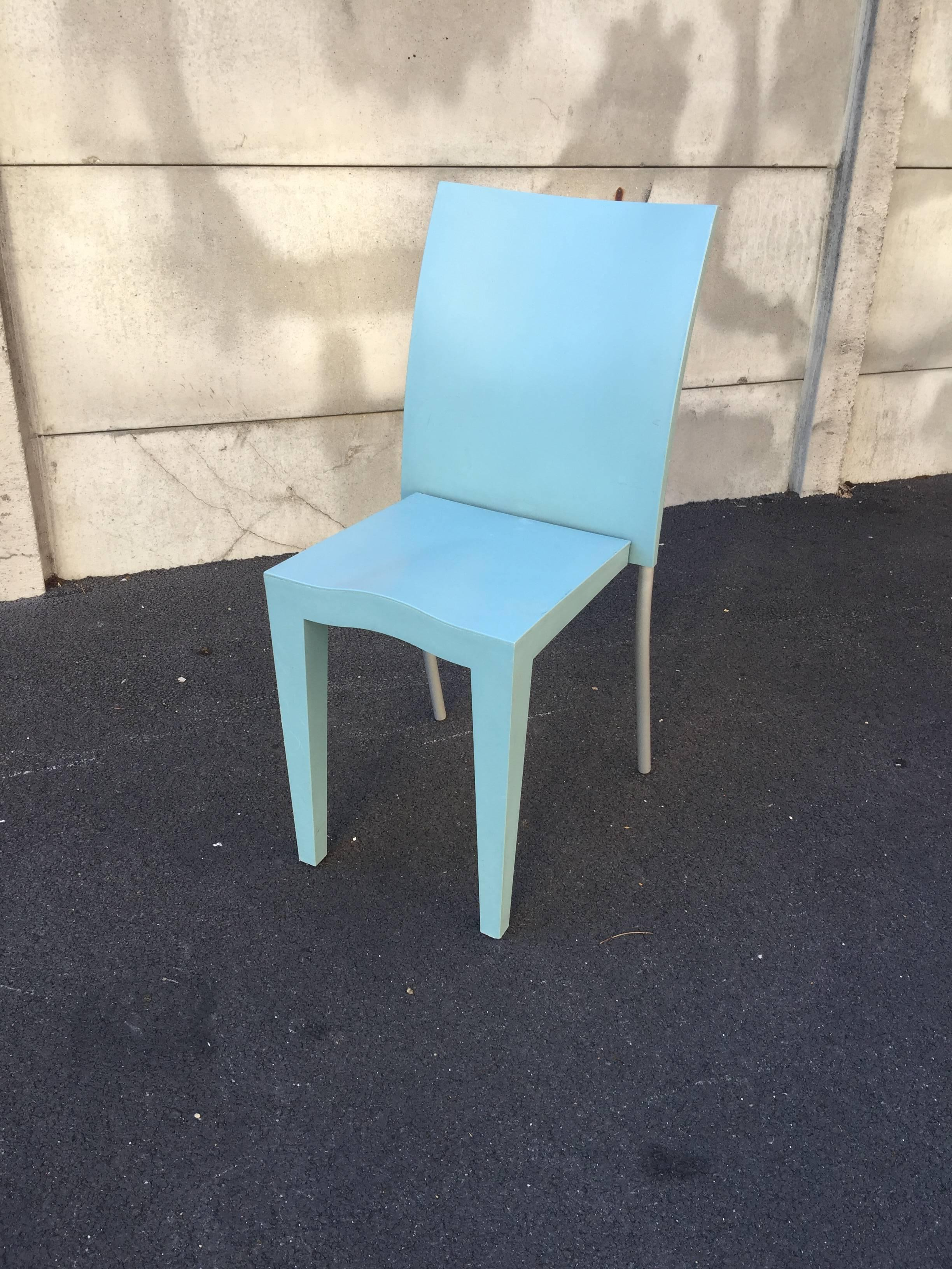 Philippe Starck, Six Chairs Miss Global, Edited by Kartell For Sale ...
