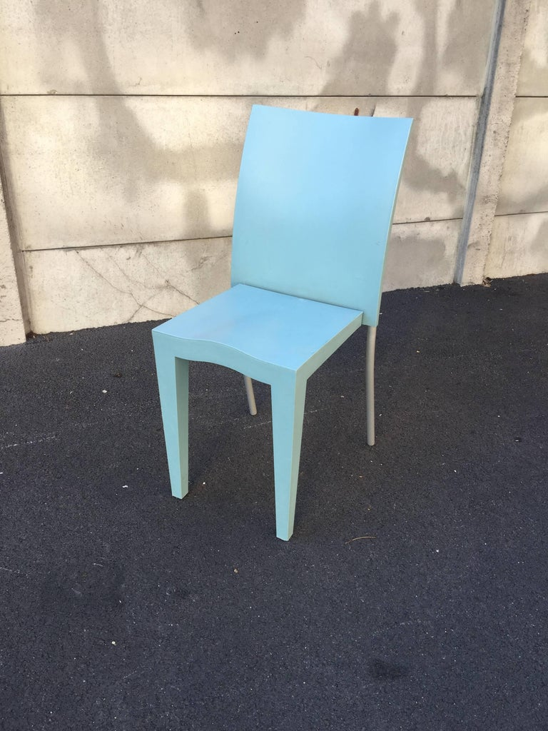 Philippe starck six chairs miss global edited by kartell for sale at 1stdibs - Chaises philippe starck ...