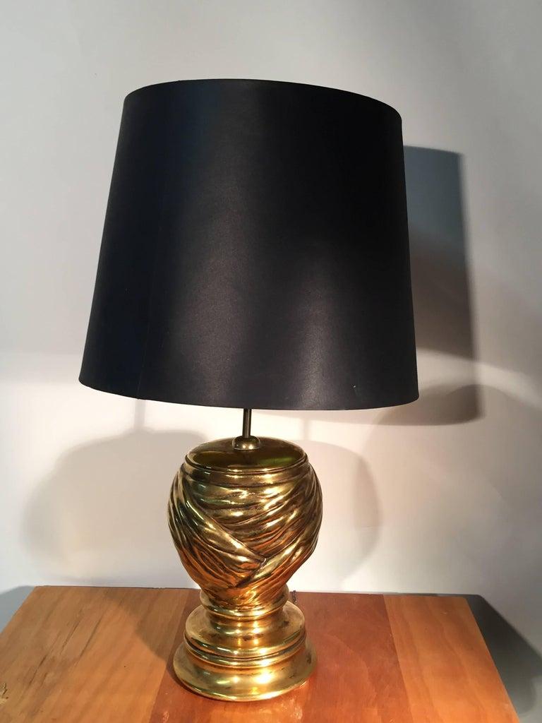 Ceramic Piero Fornasetti, Pair of Table Lamp in Céramic For Sale