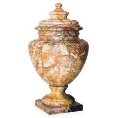 Vaso Vendôme Breche Marble Cup by Pieffe Tornitura
