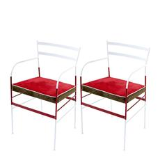 Pair of Paul Nazionale Iron Chairs by Italian Design Studio Sotow