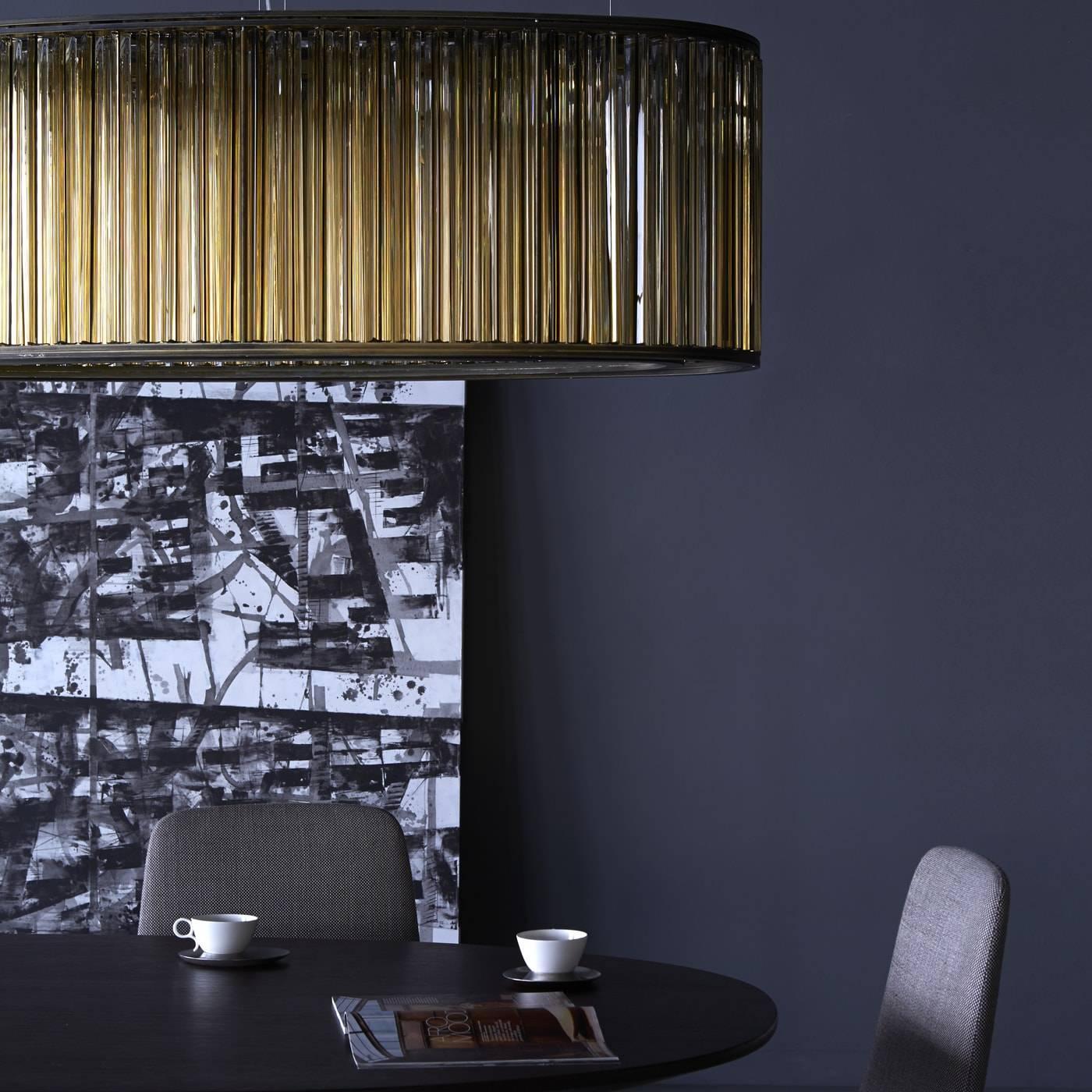 Elliptical crown lamp for sale at 1stdibs for Loft via savona 97