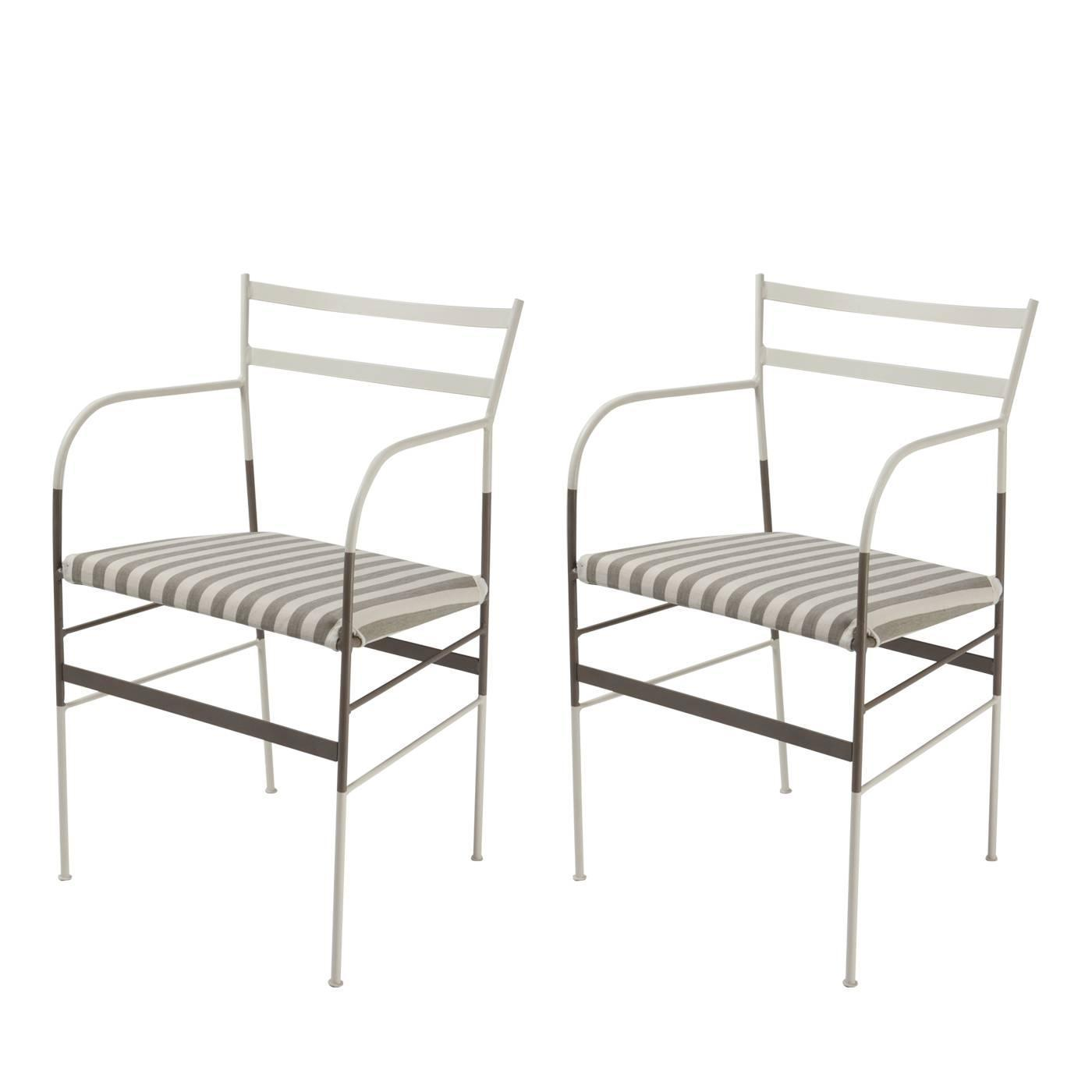 Set of two paul zebra chairs for sale at 1stdibs for Loft via savona 97