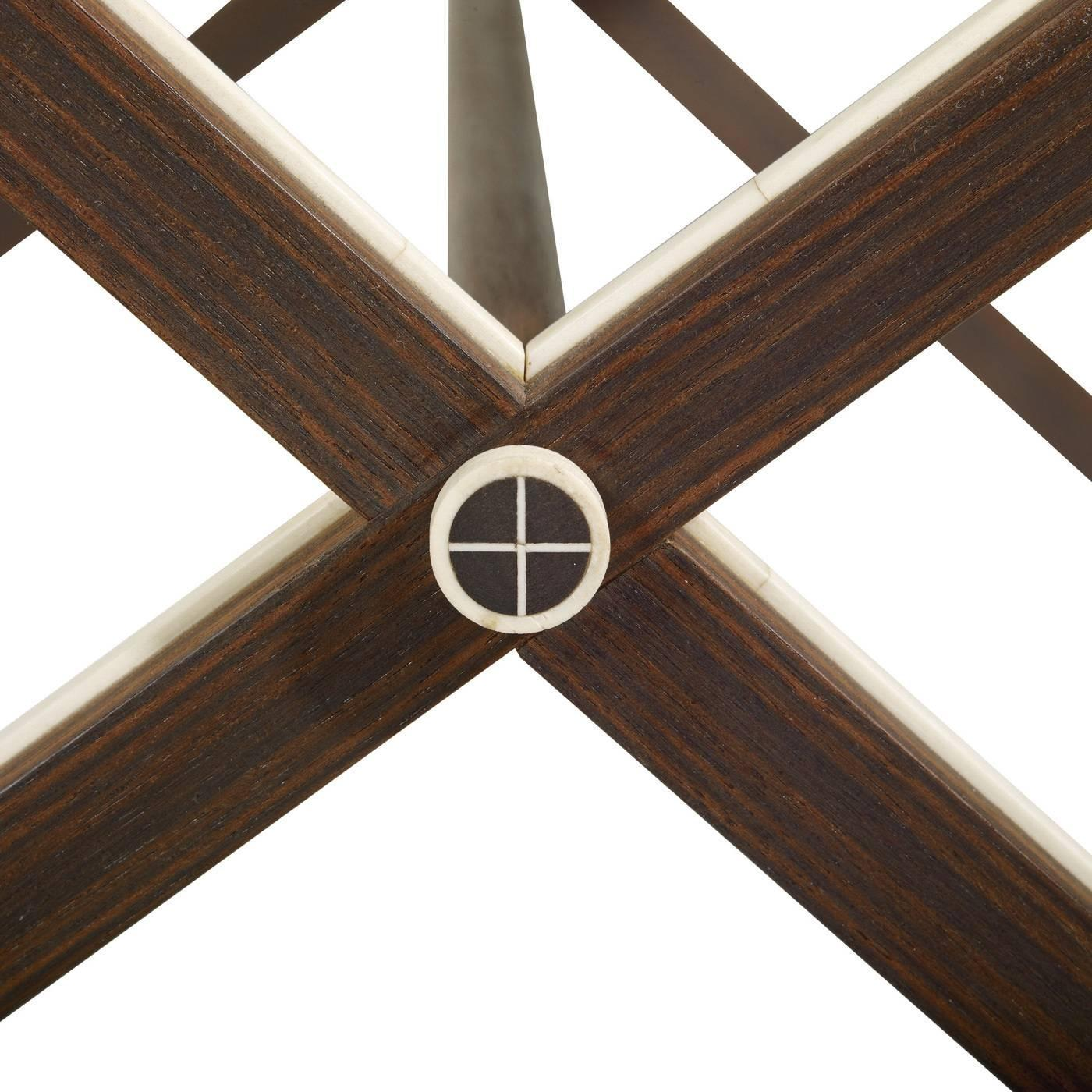 Double cross small table for sale at 1stdibs for Loft via savona 97