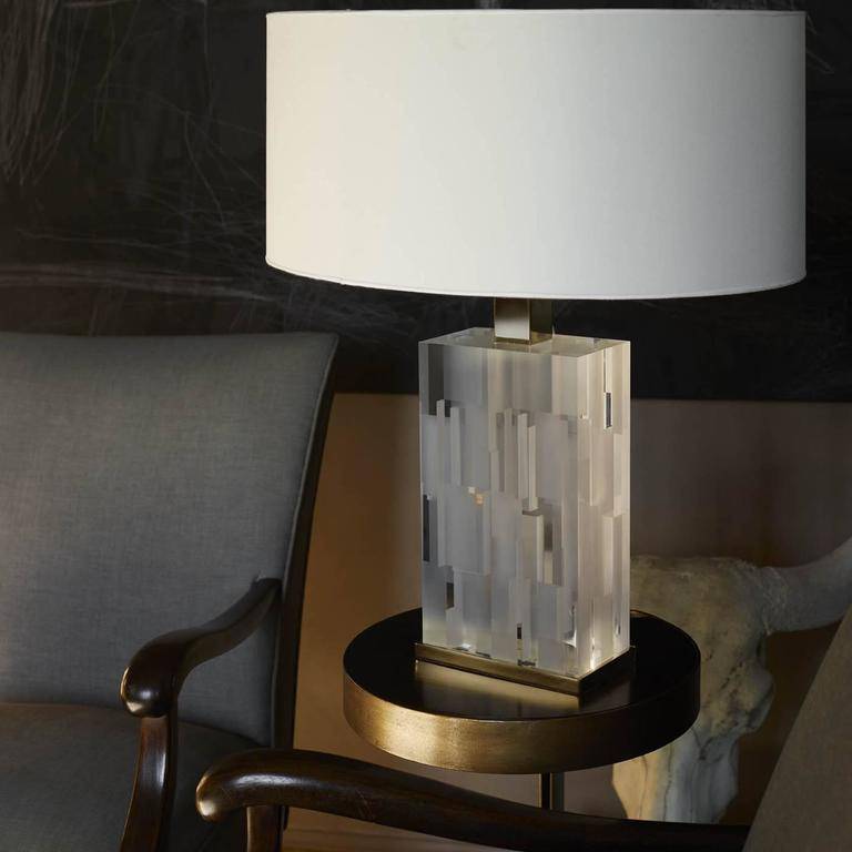Contemporary Opalina Lamp For Sale