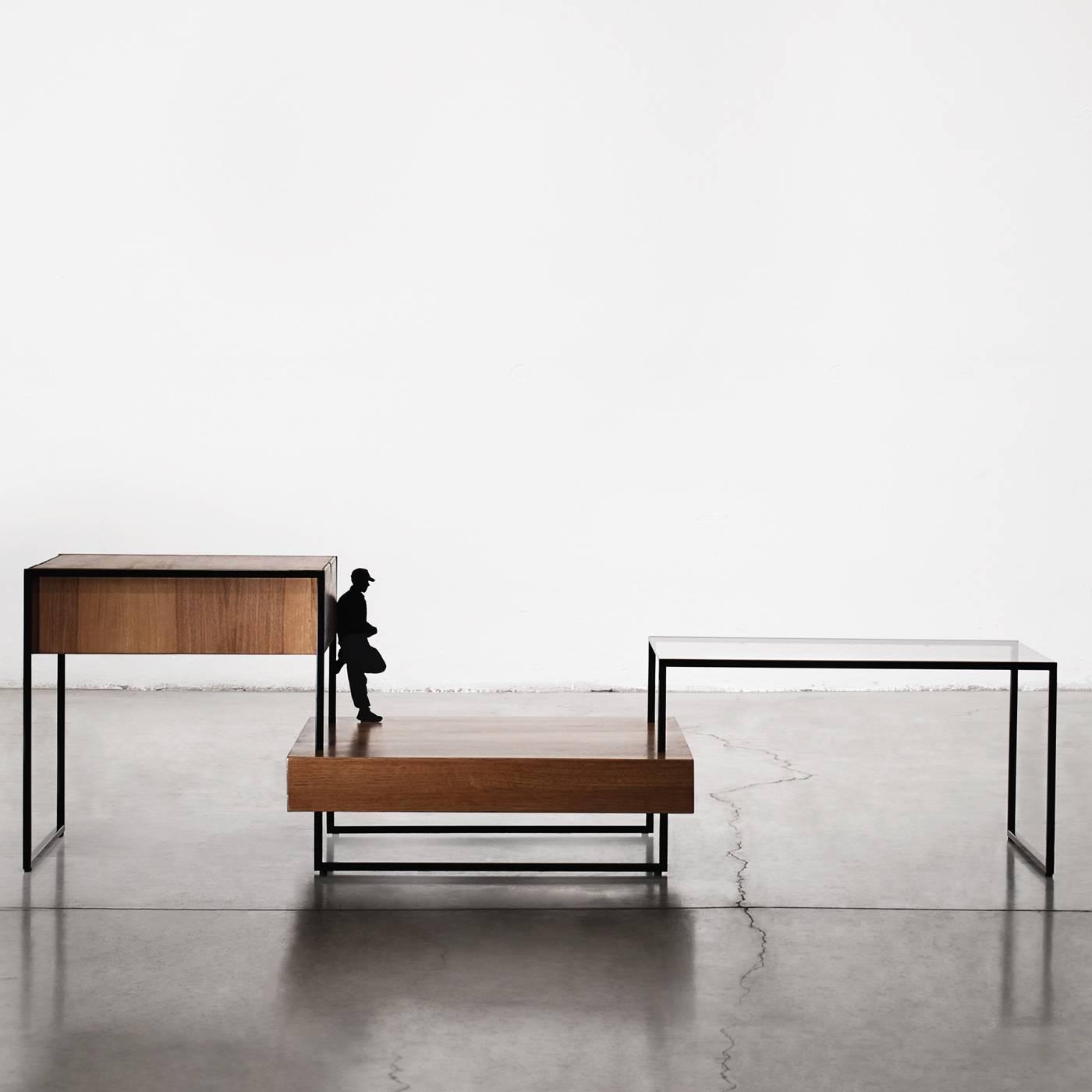 Atlantis oak coffee table for sale at 1stdibs for Loft via savona 97