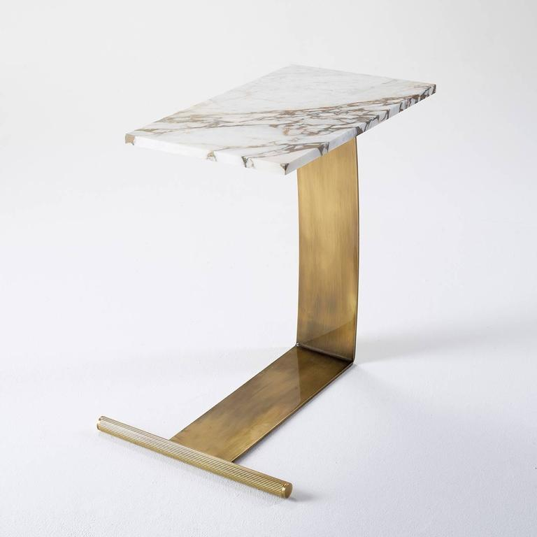 Art Deco Guy Marble Table For Sale