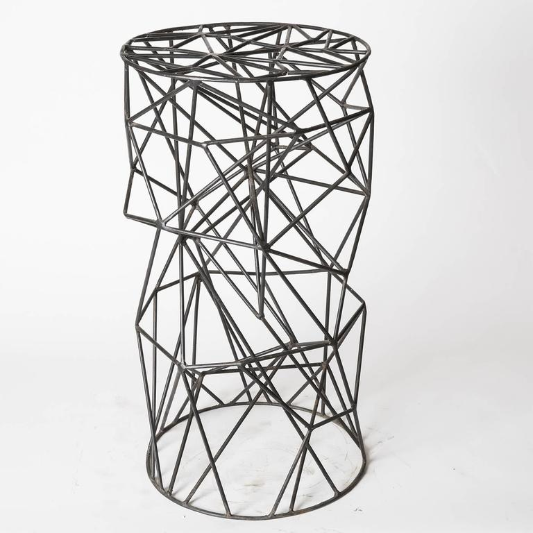 Unusual and eye-catching 'Brillo' Stool 3