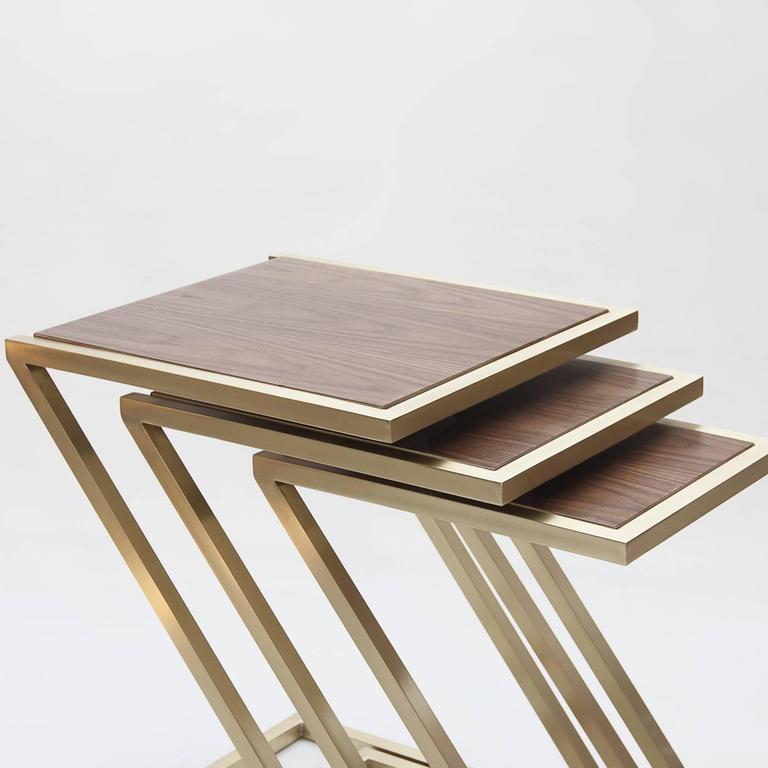 Wood Stacking Tables ~ Wood nesting tables for sale at stdibs