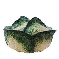 Large Cabbage Ceramic Tureen